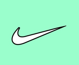 green grass, nike, and wallpapers image