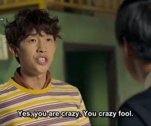 caption, funny, and Korean Drama image