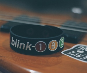 bands, bass, and blink 182 image
