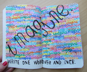 imagine, text, and love image