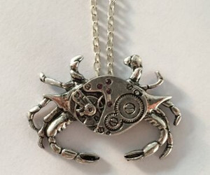 crab and necklace image