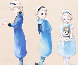 disney princess, frozen, and grow up image