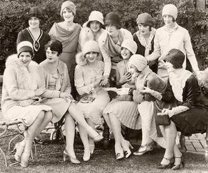 vintage, 20s, and flapper image