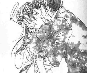 kiss, white black, and yuzuru image