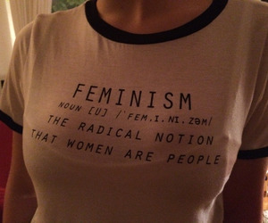 feminism, girl, and quote image