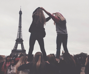 best friends, france, and girls image