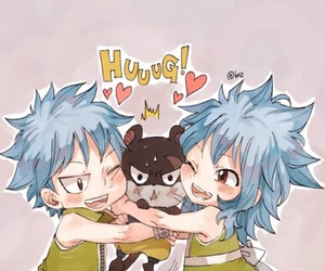 anime, fairy tail, and gale image
