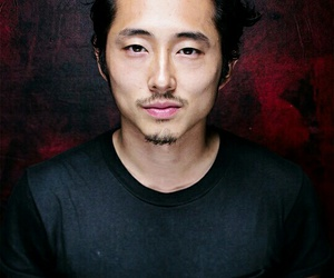 glenn, the walking dead, and steven yeun image