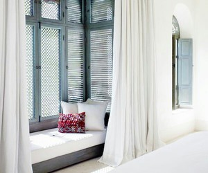 bedroom, white, and cosy image