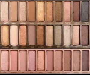 eyeshadow, makeup, and nudes image