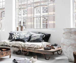 home, white, and boho image