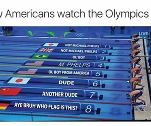 2016, funny, and olympics image