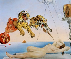 art, dali, and salvador dali image