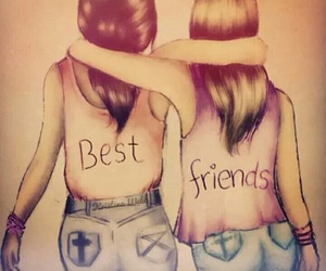 best friends, inspiration, and quotes image