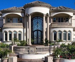 mansion, house, and luxury image