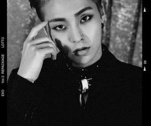 exo, xiumin, and lotto image