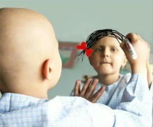 cancer, hair, and sad image