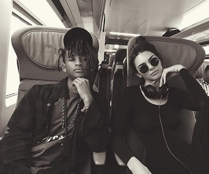 kendall jenner, jaden smith, and model image