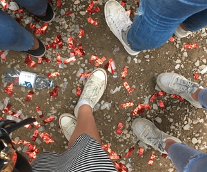 fashion, festival, and shoes image