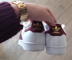 adidas, fossil, and gold image