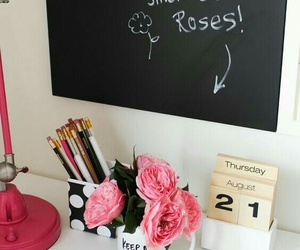 room, roses, and decoration image