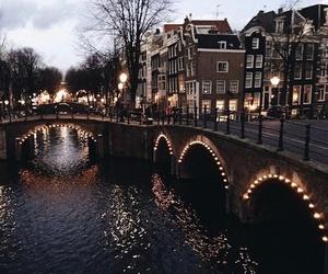 light, city, and amsterdam image