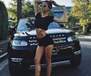 car, body, and range rover image