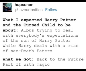 harry potter and cursed child image
