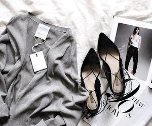 fashion, shoes, and magazine image