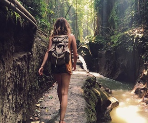wanderlust, girl, and nature image