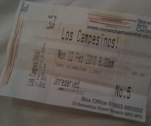 gig, los campesinos, and norwich image