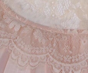 lace, pink, and aesthetic image