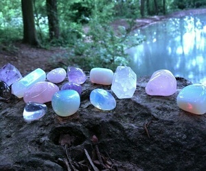 nature, crystal, and stone image