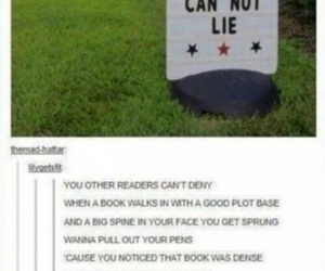 funny, books, and fandom image