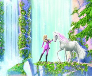 barbie, horse, and majesty image