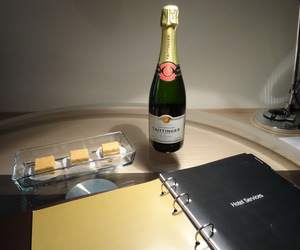 brut, cake, and champagne image