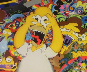simpsons and drugs image