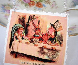 alice, alice in wonderland, and biscuits image