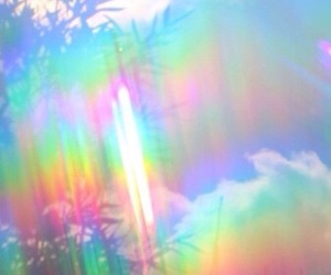 holographic, background, and grunge image