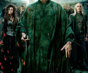 harry potter, voldemort, and lucius malfoy image