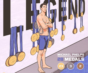 Michael Phelps, olympics, and swimming image