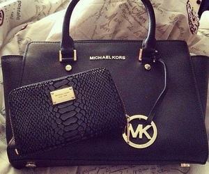 Michael Kors, black, and bag image