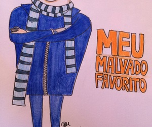 draw, despicable me, and meu malvado favorito image