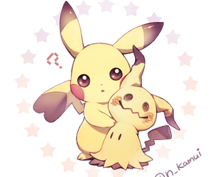 anime, pikachu, and pokemon image