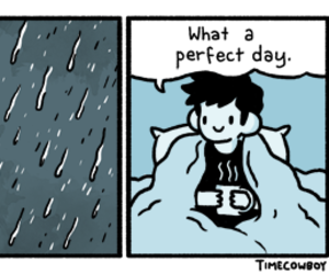 rain, perfect, and day image