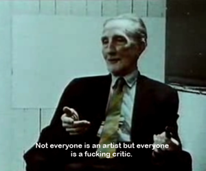 quotes, artist, and critic image