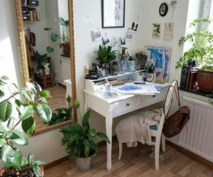plants, room, and indie image