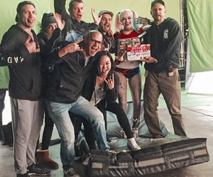suicide squad and margot robbie image