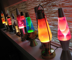 lamp, cool, and lava image