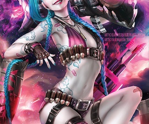 jinx, lol, and league of legends image